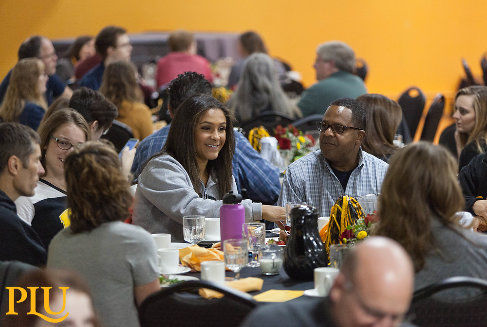 Family weekend brunch, Saturday, Oct. 14, 2017.  (Photo: John Froschauer/PLU)