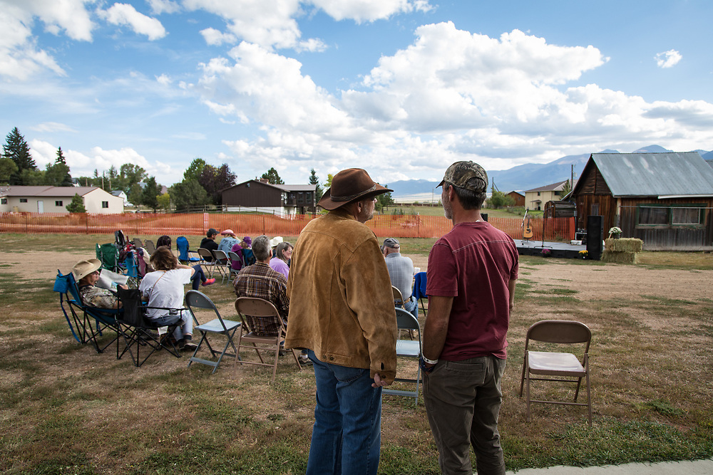 An old-fashioned Hoedown, with food and music - from R.L. Hayden, Ron Thomason and Heidi Clare - kicks off the Wet Mountain Western Pilgrimage at All Aboard Westcliffe.
