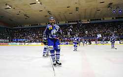 """11.03.2012, Dom Sportova, Zagreb, CRO, EBEL, KHL Medvescak Zagreb vs EC KAC, Playoff, Halbfinale, 3. Spiel, im Bild Alan Letang. . during the semifinal Match of """"Erste Bank Icehockey League"""", third encounter between KHL Medvescak Zagreb and EC KAC at Dom Sportova, Zagreb, Croatia on 2012/03/11. EXPA Pictures © 2012, PhotoCredit: EXPA/ Pixsell/ Daniel Kasap..***** ATTENTION - for AUT only *****"""
