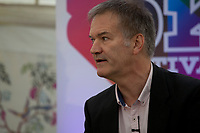 British journalist David Goodhart during the 'New World Order' talk at the Dalkey Book Festival, Dalkey, County Dublin, Ireland, Thursday 15th June 2017. Photo credit: Doreen Kennedy