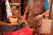 Sao Raimundo Nonato_PI, Brasil...Parque Nacional da Serra da Capivara em Sao Raimundo Nonato, Piaui. Na foto detalhe do artesanato da regiao...Serra da Capivara National Park in Sao Raimundo Nonato, Piaui. In this photo detail of crafts in the region...Foto: ALEXANDRE BAXTER / NITRO