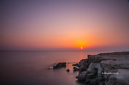 Sunset at Sea Caves, Cyprus