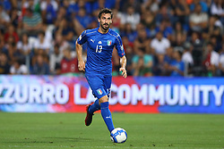 September 5, 2017 - Reggio Emilia, Italy - Davide Astori of Italy during the FIFA World Cup 2018 qualification football match between Italy and Israel at Mapei Stadium in Reggio Emilia on September 5, 2017. (Credit Image: © Matteo Ciambelli/NurPhoto via ZUMA Press)