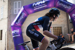 Audrey Cordon-Ragot (FRA) of Wiggle Hi5 Cycling Team reaches the top of the final climb of Stage 5 of the Giro Rosa - a 12.7 km individual time trial, starting and finishing in Sant'Elpido A Mare on July 4, 2017, in Fermo, Italy. (Photo by Balint Hamvas/Velofocus.com)