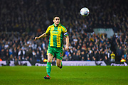 Gareth Barry of West Bromwich Albion (18) in action during the EFL Sky Bet Championship match between Leeds United and West Bromwich Albion at Elland Road, Leeds, England on 1 March 2019.