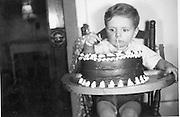 January 1940, Daniel Doiy's second birthday.