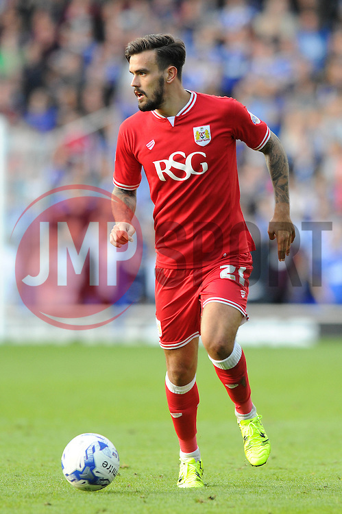 Marlon Pack of Bristol City - Mandatory byline: Dougie Allward/JMP - 07966 386802 - 26/09/2015 - FOOTBALL - Portman Road - Ipswich, England - Ipswich Town v Bristol City - Sky Bet Championship