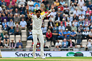Ishant Sharma of India appeals for an lbw against Adil Rashid of England which is given not out during the first day of the 4th SpecSavers International Test Match 2018 match between England and India at the Ageas Bowl, Southampton, United Kingdom on 30 August 2018.