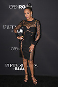 Vivica A. Fox attendS the Los Angeles premiere of 'Fifty Shades of Black' on Monday, January 26, 2016, at Regal Cinemas L.A. LIVE Stadium 14 in Los Angeles, California. (Photo: Charlie Steffens/Gnarlyfotos)
