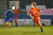 Wycombe Wanderers striker Alex Samuel (25) during the EFL Sky Bet League 1 match between Gillingham and Wycombe Wanderers at the MEMS Priestfield Stadium, Gillingham, England on 15 December 2018.