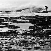 Anticipation: Surfer, East Coast Australia