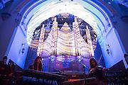 Les Momies de Palerme (CA), A/Visions 4, The Organ Drop, Église Saint-James, Montreal,2 juin 2012.