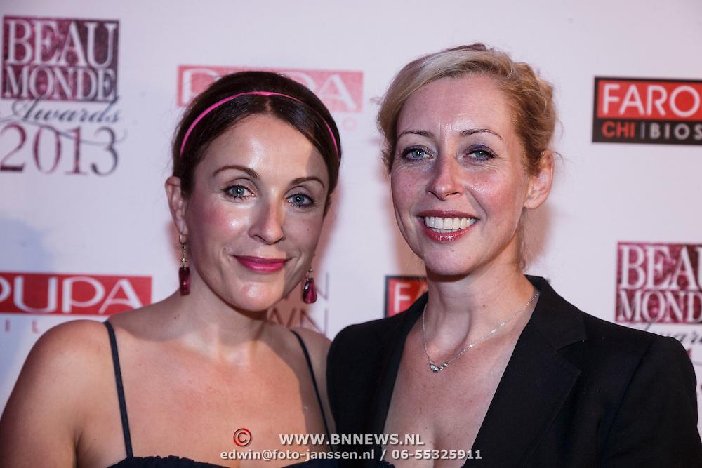 NLD/Amsterdam/20131111 - Beau Monde Awards 2013, Annick Boer en Pien van Bennekom