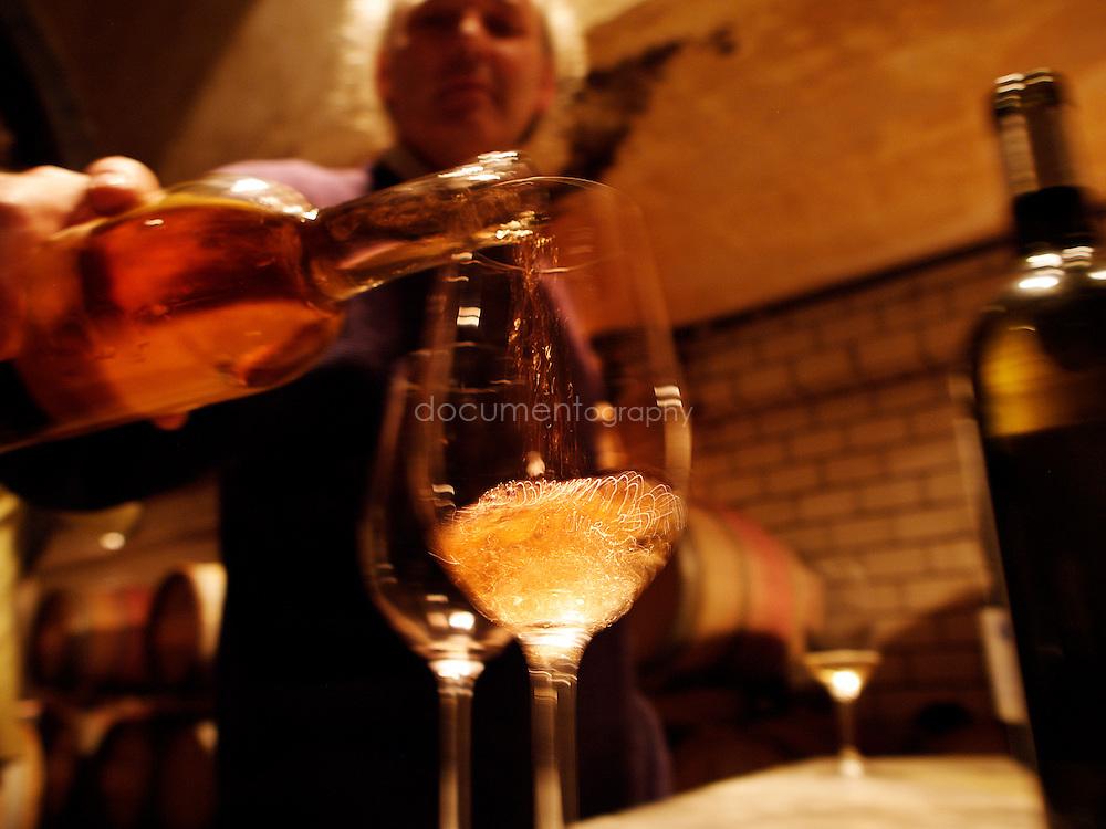 Degustation de vin au Domaine de La Courtade