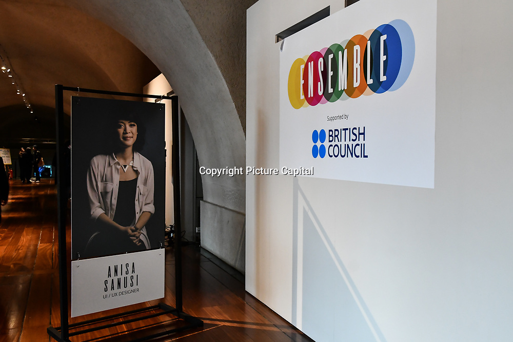 London Games Festival 2019: HUB at Somerset House at Strand, London, UK. on 2nd April 2019.