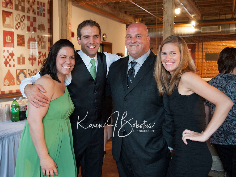 Jill and Robby Caristi Wedding at the Belknap Mill  May 11, 2013.