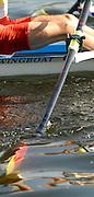 Hazenwinkel, BELGIUM,  Scull stroke, , at the GB Rowing Senior Trials, on Sun,15.04.2007  [Credit, Peter Spurrier/Intersport-images]   [Mandatory Credit, Peter Spurier/ Intersport Images]. , Rowing Course, Bloso, Hazewinkel. BELGUIM