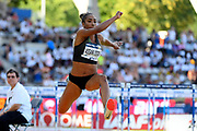 Jeanine Assani Issouf (FRA) competes in Triple Jump Women during the Meeting de Paris 2018, Diamond League, at Charlety Stadium, in Paris, France, on June 30, 2018 - Photo Julien Crosnier / KMSP / ProSportsImages / DPPI