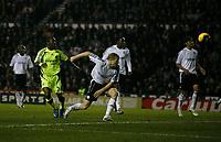 Photo: Steve Bond/Sportsbeat Images.<br /> Derby County v Chelsea. The FA Barclays Premiership. 24/11/2007. Shaun Wright-Phillips (L) scores Chelsea's 2nd