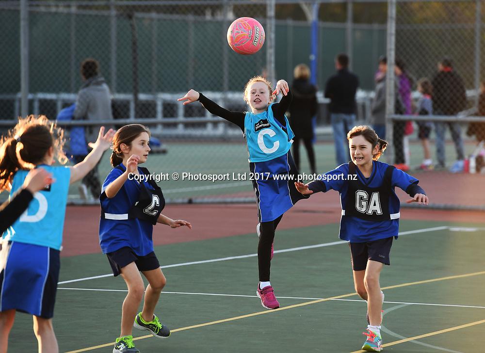 St Kentigern Girls school. Junior Netball, Auckland Netball Centre, Thursday 8 June 2017. © ANDREW CORNAGA / WWW.PHOTOSPORT.NZ