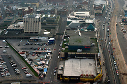 UK ENGLAND LANCASHIRE BLACKPOOL 1DEC04 - Aerial view of Blackpool Central Station, one of the proposed sites for the 'Super-Casinos' to be built following the passing of the UK Government's controversial Gambling Bill.....jre/Photo by Jiri Rezac....© Jiri Rezac 2004....Contact: +44 (0) 7050 110 417..Mobile:  +44 (0) 7801 337 683..Office:  +44 (0) 20 8968 9635....Email:   jiri@jirirezac.com..Web:    www.jirirezac.com....© All images Jiri Rezac 2004 - All rights reserved.