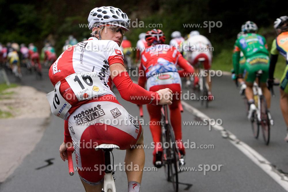 Primoz Segina (SLO) of Motomat Delo Revije near Kamnik at 3rd stage of Tour de Slovenie 2009 from Lenart to Krvavec, 175 km, on June 20 2009, Slovenia. (Photo by Vid Ponikvar / Sportida)