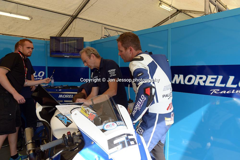 #56 John Ingram Morello Racing Kawasaki MCE British Superbikes