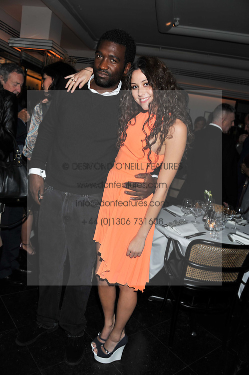 ELIZA DOOLITTLE and ? at a dinner to celebrate the 30th anniversary of Le Caprice, Arlington Street, London SW1 on 4th October 2011.