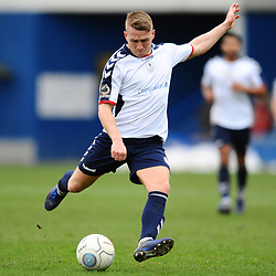 TELFORD COPYRIGHT MIKE SHERIDAN 9/3/2019 - Darryl Knights of AFC Telford during the National League North fixture between AFC Telford United and FC United of Manchester (FCUM) at the New Bucks Head Stadium