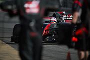 February 26, 2017: Circuit de Catalunya. Romain Grosjean (FRA), Haas F1 Team, VF17