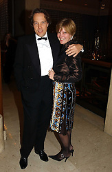 The EARL & COUNTESS OF MARCH at the 2004 Cartier Racing Awards in association with the Daily Telegraph, held at the Four Seasons Hotel, London on 17th November 2004.<br />
