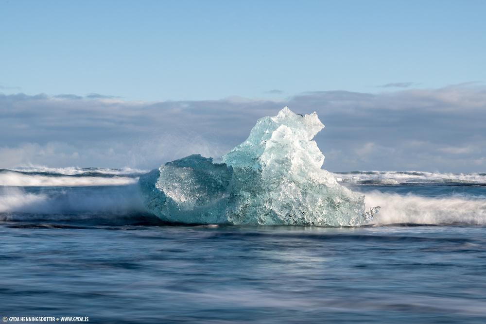 Jokulsarlon in south iceland