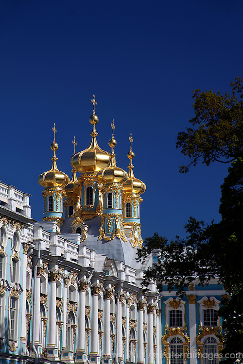 Europe, Russia, Pushkin. Catherine Palace.