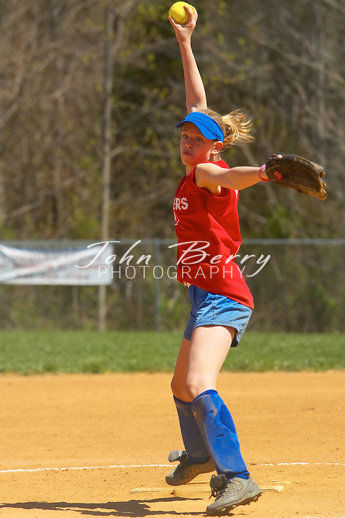 Crushers vs Chain Reaction, 12 & Under..Madison Parks and Rec Softball..