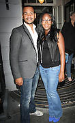 05.SEPTEMBER.2011. LONDON<br /> <br /> TV PRESENTERS MICHAEL UNDERWOOD AND ANGELICA BELL AT THE JEANS FOR GEANS LAUNCH PARTY IN SOHO, CENTRAL LONDON<br /> <br /> BYLINE: EDBIMAGEARCHIVE.COM<br /> <br /> *THIS IMAGE IS STRICTLY FOR UK NEWSPAPERS AND MAGAZINES ONLY*<br /> *FOR WORLD WIDE SALES AND WEB USE PLEASE CONTACT EDBIMAGEARCHIVE - 0208 954 5968*