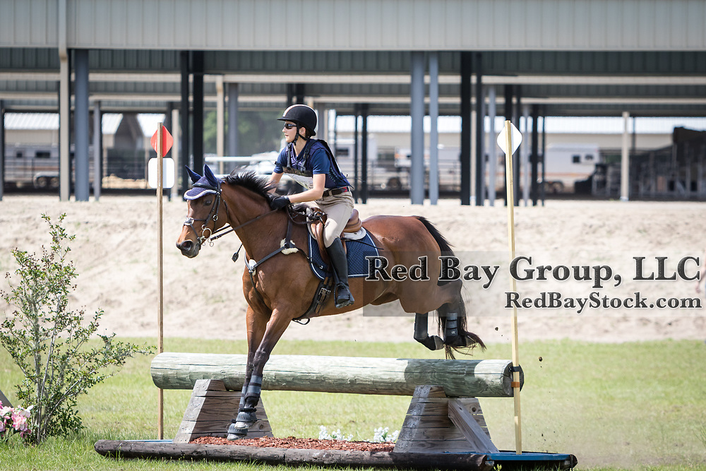 Ellis Traywick and Arin at the Ocala International in Ocala, Florida.