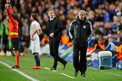 Chelsea Manager Jose Mourinho (POR) paces the touchline - Photo mandatory by-line: Rogan Thomson/JMP - 07966 386802 - 08/04/2014 - SPORT - FOOTBALL - Stamford Bridge, London - Chelsea v Paris Saint-Germain - UEFA Champions League Quarter-Final Second Leg.