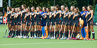 St.-Job-In 't Goor / Antwerpen -  Nederland Jong Oranje Dames (JOD) - Groot Brittannie (7-2). line up Oranje   COPYRIGHT  KOEN SUYK