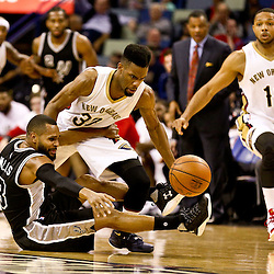 03-03-2016 San Antonio Spurs at New Orleans Pelicans
