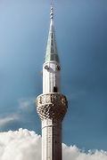 a minaret in the sky