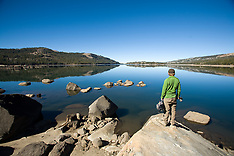 Caples Lake, California Fly Fishing Photos - Stock images