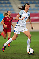 England's Jill Scott during the frendly match between woman teams of  Spain and England at Fernando Escartin Stadium in Guadalajara, Spain. October 25, 2016. (ALTERPHOTOS/Rodrigo Jimenez)