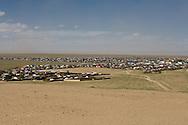 Mongolia. in the streets of  Hahorin   /  les rues de  Karakorum - Mongolie