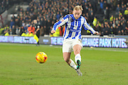 Barry Bannan of Sheffield Wednesday during the Sky Bet Championship match between Hull City and Sheffield Wednesday at the KC Stadium, Kingston upon Hull, England on 26 February 2016. Photo by Ian Lyall.