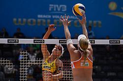 10-06-2016 DUI: Smart Major Beach Volleyball World Tour, Hamburg<br /> Karla Borger #1<br /> <br /> ***NETHERLANDS ONLY***