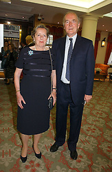 JOSEPH CZERNIN and his wife LADY HOWARD DE WALDEN at a private view of the forthcoming sale 'Property from the collection of HRH The Princess Margaret, Countess of Snowdon' and a private view of art by Marina Karella Princess Michael of Greece, held at Christie's, 8 King Street, London SW1 on 12th June 2006.<br />
