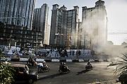 JAKARTA; WEDNESDAY, SEPTEMBER 17, 2014; INDONESIA ECONOMIC RISING: