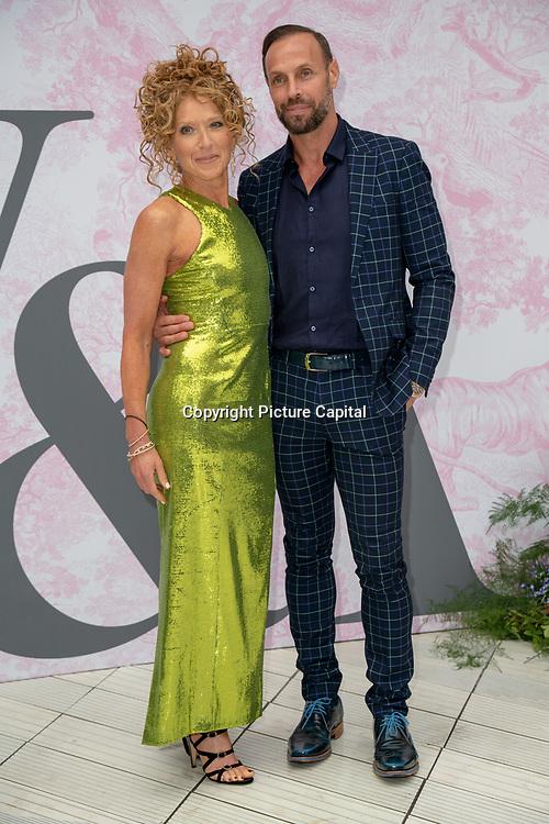 Kelly Hoppen arrives at V&A - summer party, on 19 June 2019, London, UK