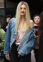 Lily Donaldson, London Fashion Week A/W17 - Topshop Unique, Tate Modern, London UK, 19 February 2017, Photo by Brett D. Cove