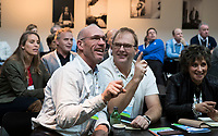 BUSSUM - NVG / NGF/ PGA congres 2018. The drive to happiness. Mark Metgod , Vera van den Berg. .   COPYRIGHT KOEN SUYK